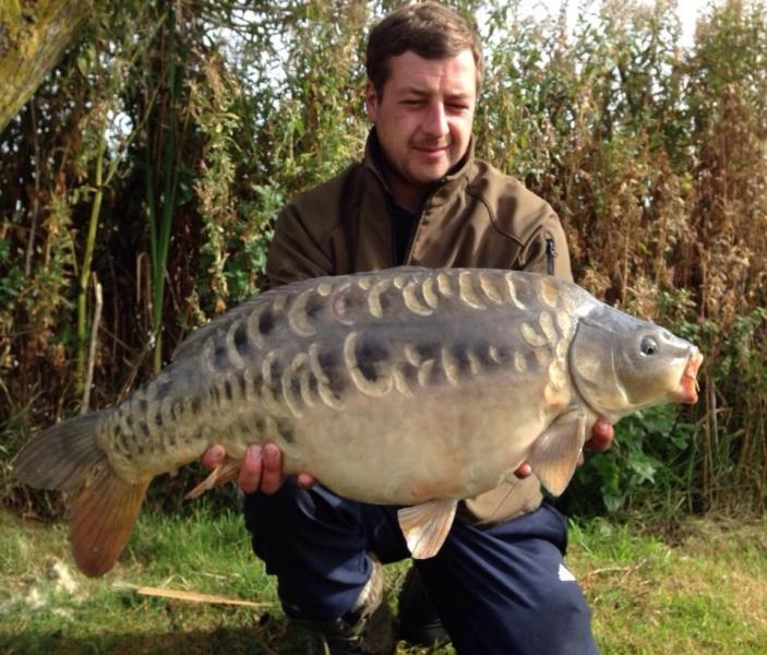 Merrington Course pools,  carp fishery
